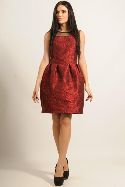 """Платье """"Роузи"""" красный"""