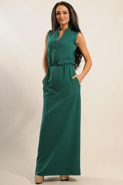 """Платье """"Ваниль"""" зеленый"""