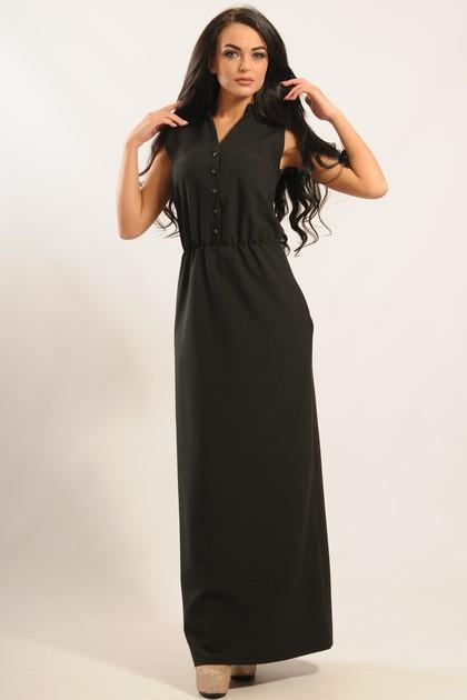 """Платье """"Ваниль"""" черный"""