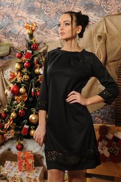 """Платье """"Ассоль"""" черный"""