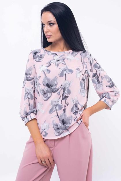 """Блуза """"Мирей"""" розовый"""