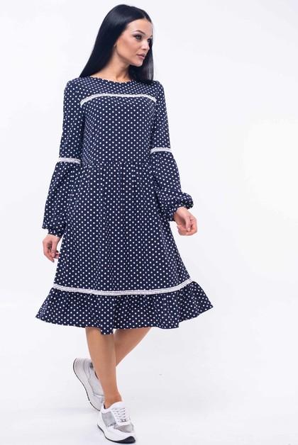 """Платье """"Шерил"""" синий"""