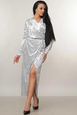 """Платье """"Джессика"""" серый"""
