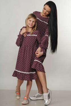 """Платье """"Шерил-Kids"""" фиолет"""