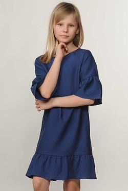"""Платье """"Мелани-Kids"""" темно-синий"""