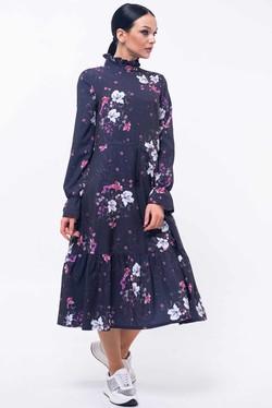 """Платье """"Рут"""" темно-фиолетовый"""