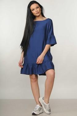 """Платье """"Мелани"""" темно-синий"""