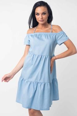 """Платье """"Нейли"""" голубой"""