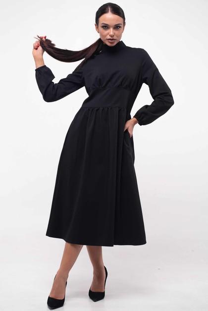 """Платье """"Окси"""" черный"""