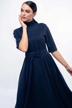 """Платье """"Стелла"""" темно-синий"""