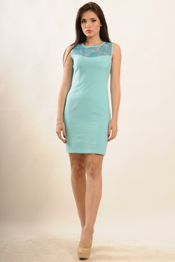 "Платье ""Кашибо"" голубой"