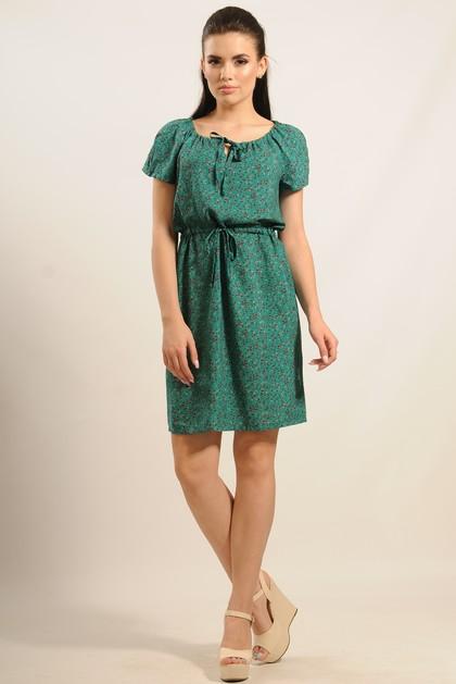 """Платье """"Кира"""" зеленый"""