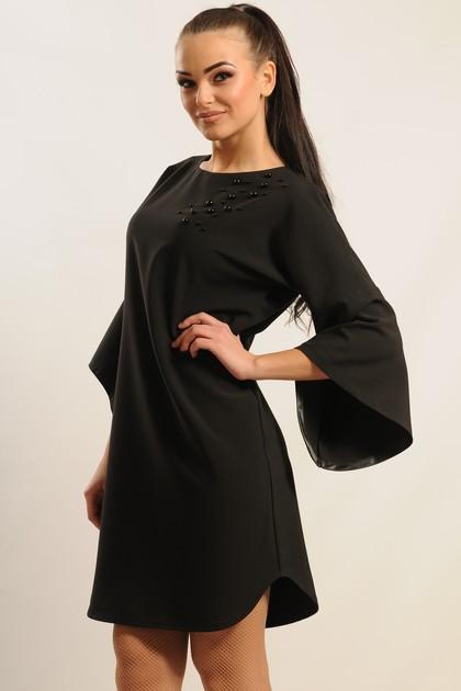 """Платье """"Индира-Декор"""" черный"""