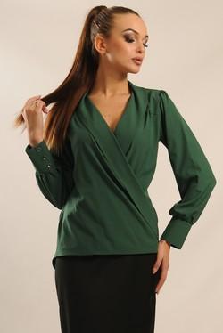 """Блуза """"Жанин"""" зеленый"""