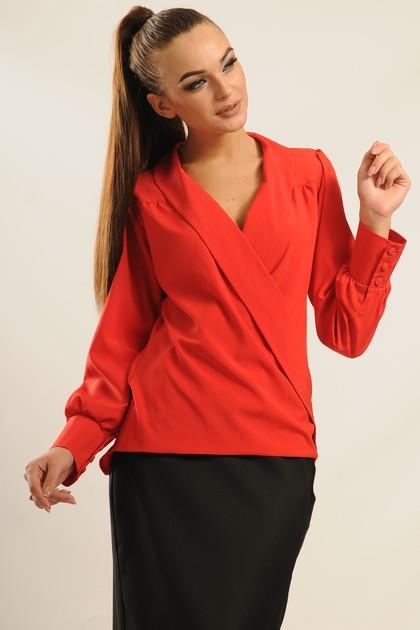 """Блуза """"Жанин"""" красный"""