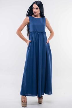"""Платье """"Лилиан"""" темно-синий"""