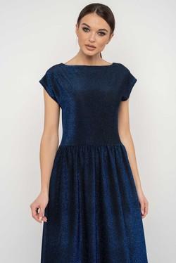 """Платье """"Мирелла"""" темно-синий"""