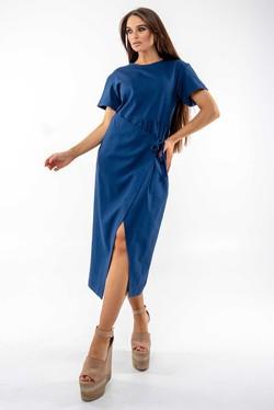 """Платье """"Джейд"""" темно-синий"""