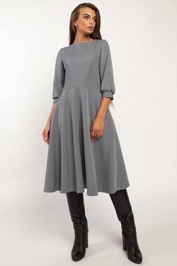 "Платье ""Делла"" серый"