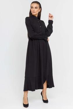 """Платье """"Флорет"""" черный"""