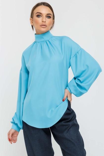 "Блуза ""Эмира"" голубой"