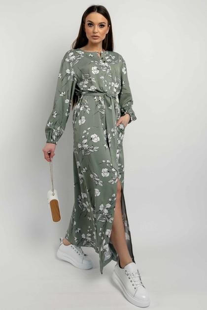 "Платье ""Медина"" оливка"