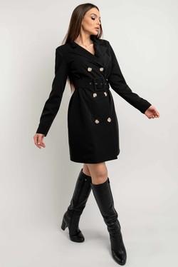 """Платье-пиджак """"Марго"""" черный"""