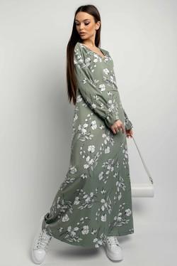 "Платье ""Лина"" оливка"